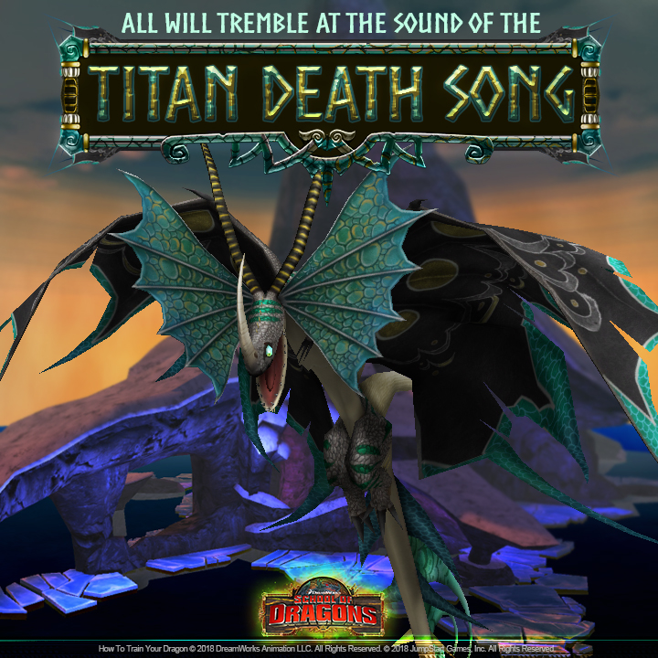 Introducing the all new titan death song school of dragons how this dragons arrival was marked by a piercing siren like song which was heard all over campus this melodic tune hypnotized vikings leading them to the ccuart Image collections