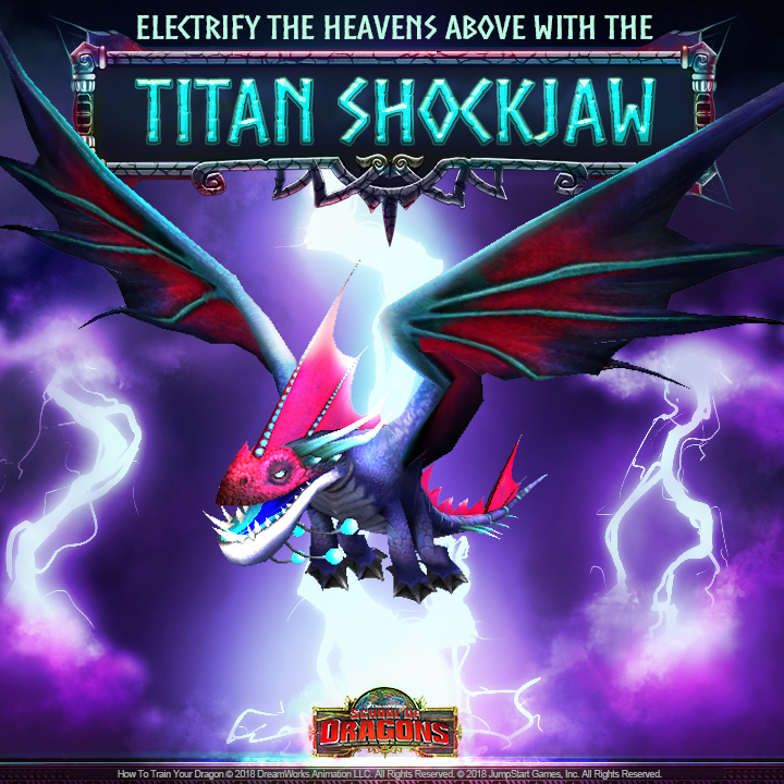ALL-NEW Titan Shockjaw Stirs Campus! | School of Dragons | How to